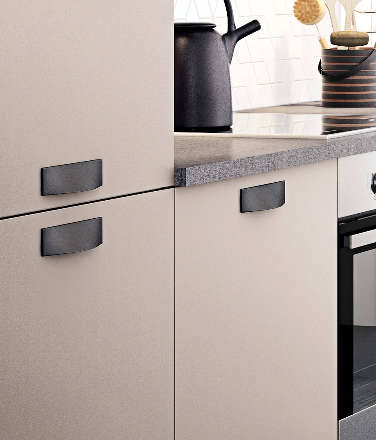 Picture of: Choosing Unit Handles For Your Kitchen Hth