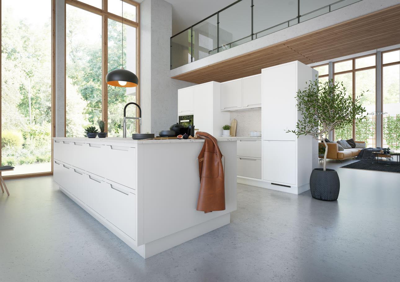 NEWS: Framed front kitchen using Shape   HTH