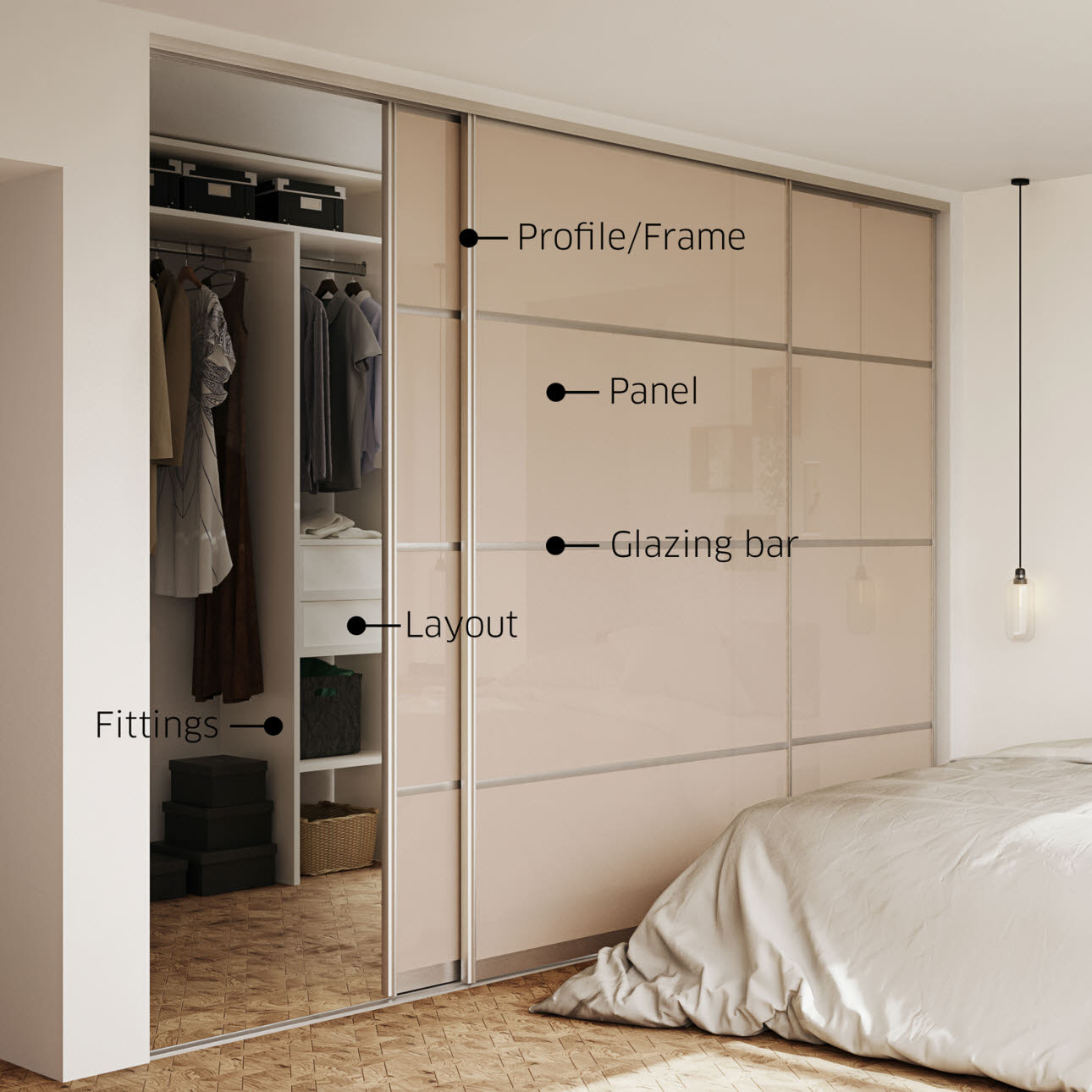 Design your sliding door waredrobe | HTH