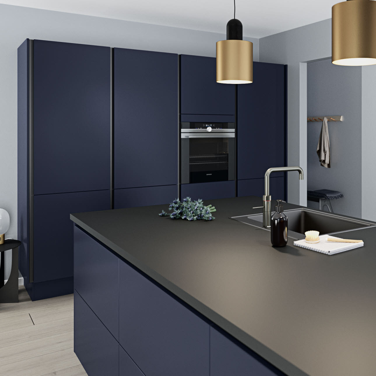 Exclusive high-quality kitchen with pure lines: Model Athena | HTH