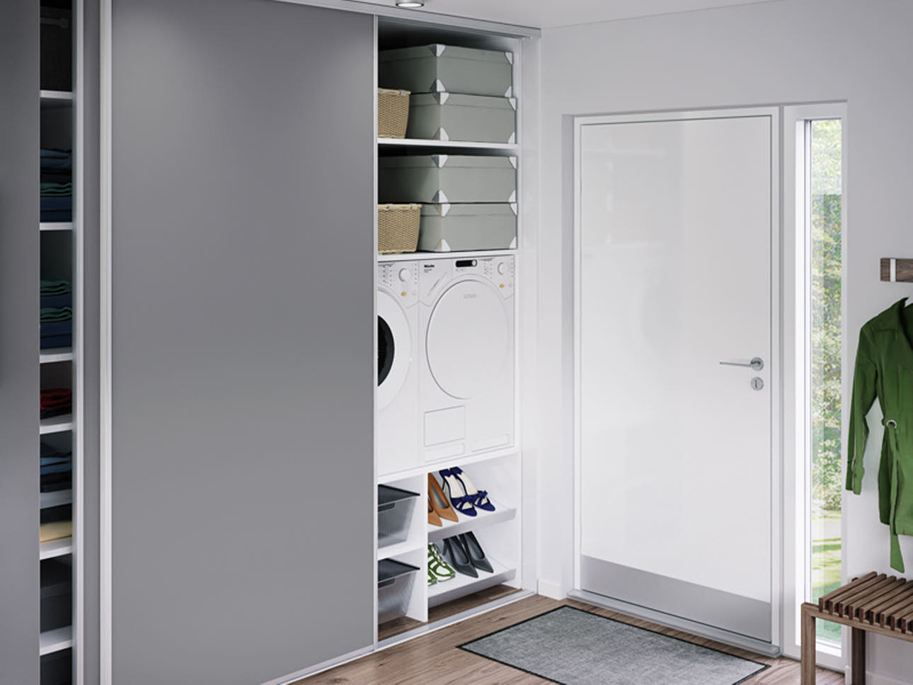 Wardrobe with sliding doors | HTH