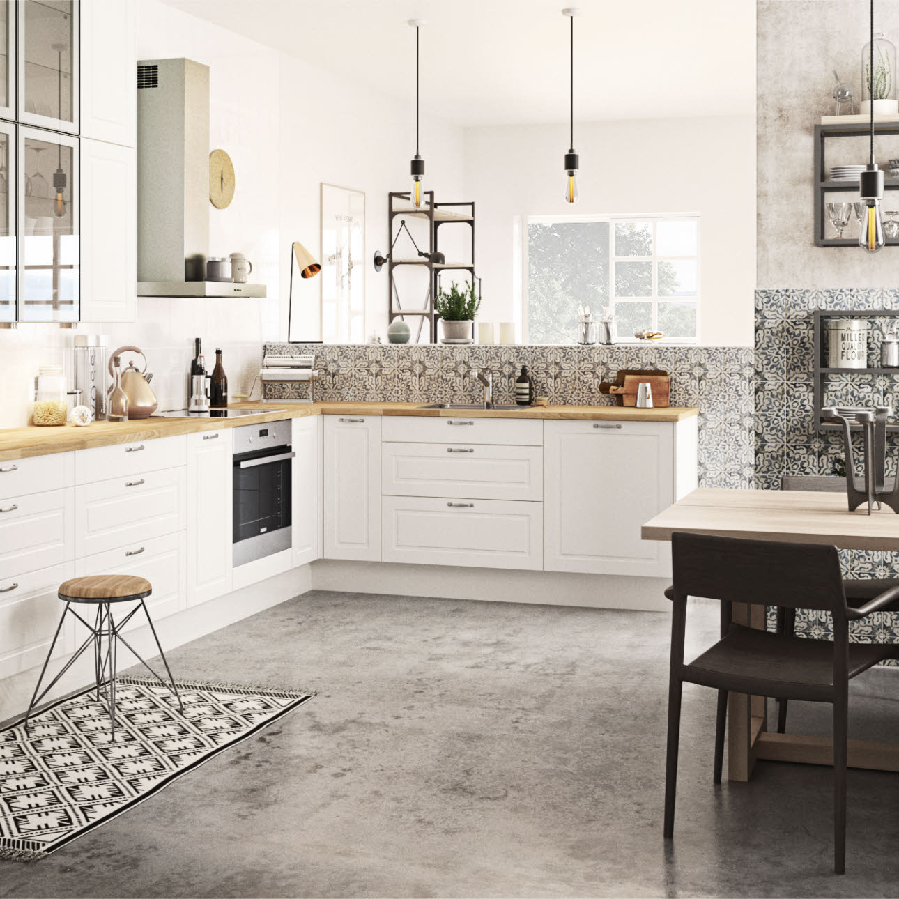 French country kitchen in a romantic and modern style: Sense | HTH